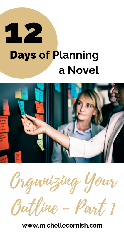 Now that you have a ton of notes for your novel outline, here are some tips for organizing them using sticky notes and recipe cards.