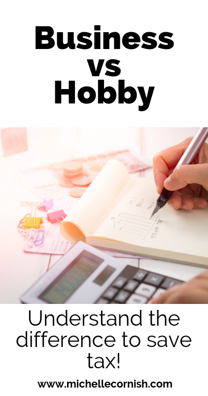 When are hobbies actually businesses and why should you care?