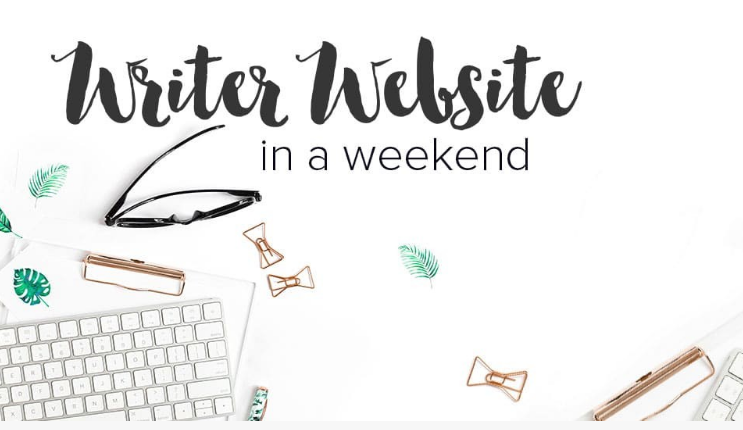 Writer Website in a Weekend - create your author website