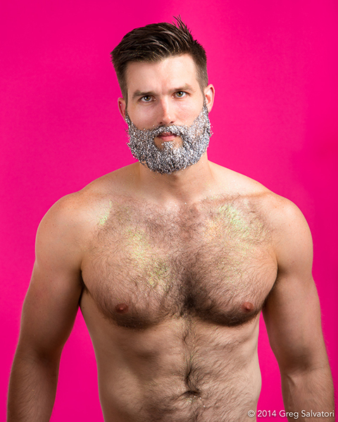 glitter beard greg salvatori beards of new york