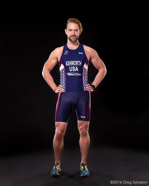 Michael Ashworth Team USA Duathlon Athlete Greg Salvatorii