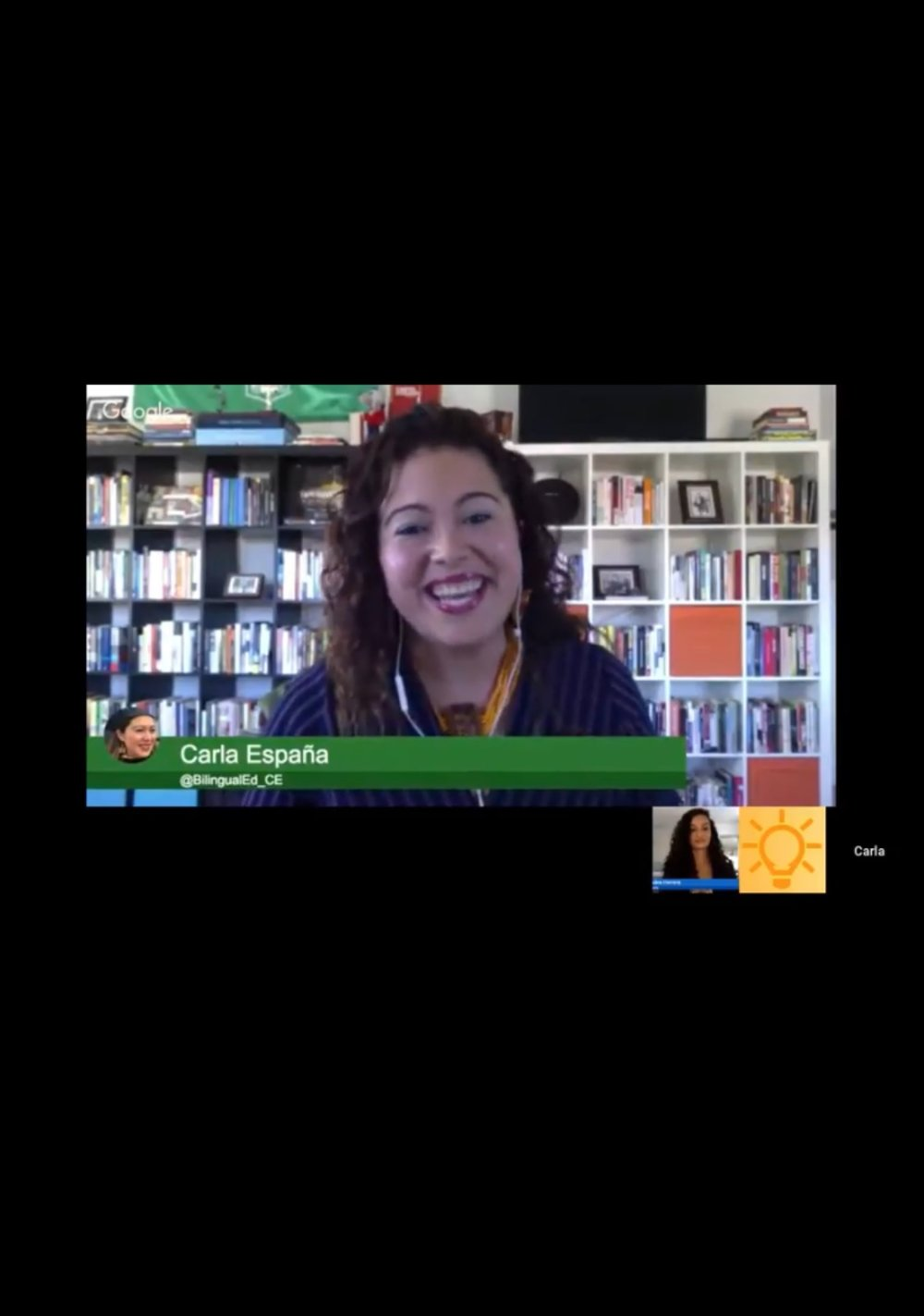 #TheEdCollabGathering live from Queens, NY with Luz (on the west coast) on Decolonizing Bilingual Curriculum and Pedagogy, September 23rd