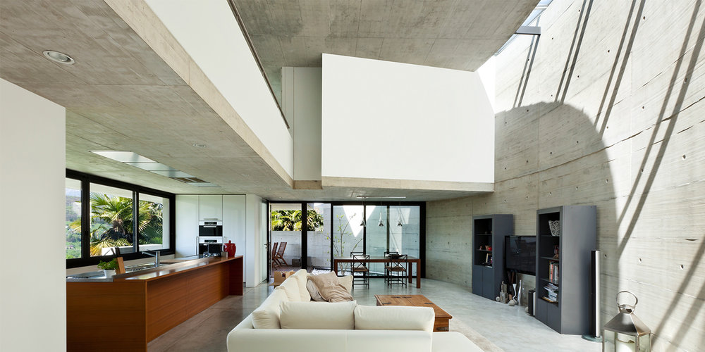 Stunning concrete floors