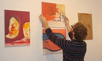 "Dan Jones' gallery titled ""Noises."""