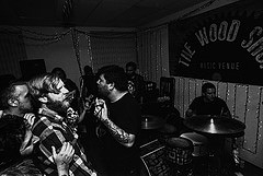 One of the many band perfomances from Cicchetti's series of photos. Mike Cicchetti/The Chronicle