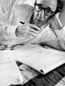 Woody Allen portrait by Arnold Newman