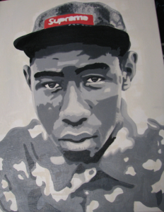 Henry Fuller's portrait of rapper Tyler, the Creator
