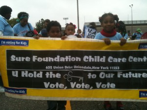 Step up for Kids march
