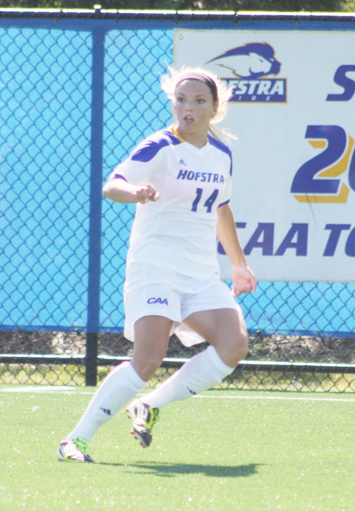 Victoria Mickens/The Chronicle Delaney, a native of Sparta, New Jersey, has registered over 300 minutes and two starts so far in her freshman season.