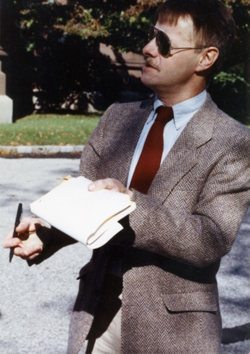 Art History professor Joseph Masheck. (Photo courtesy of Joseph Masheck.)