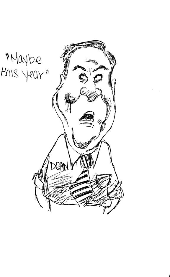 Howard Dean Cartoon by the Chronicle Editorial Staff