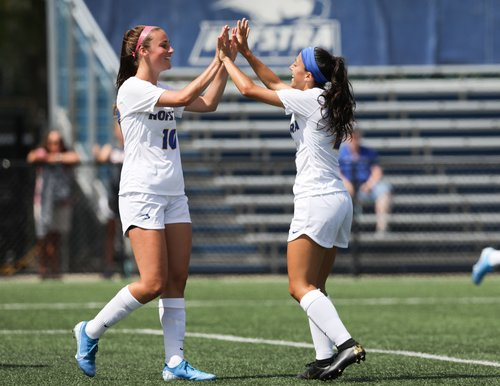 Porter's four goals propels women's soccer past Fordham with