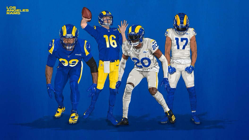 Tino's Jersey Reviews: Los Angeles Rams — The Hofstra Chronicle