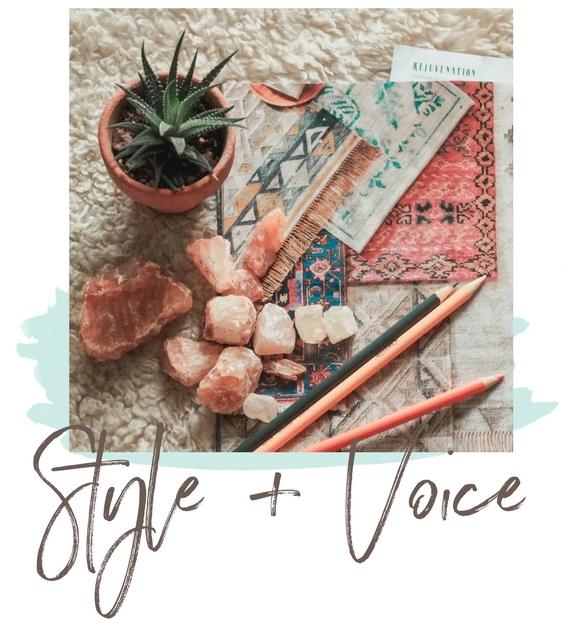 Style + voice