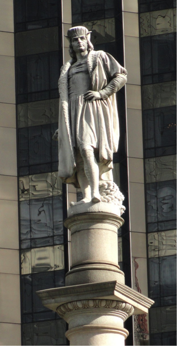 The Columbus Monument in Columbus Circle, New York. Photo courtesy of Diderot.