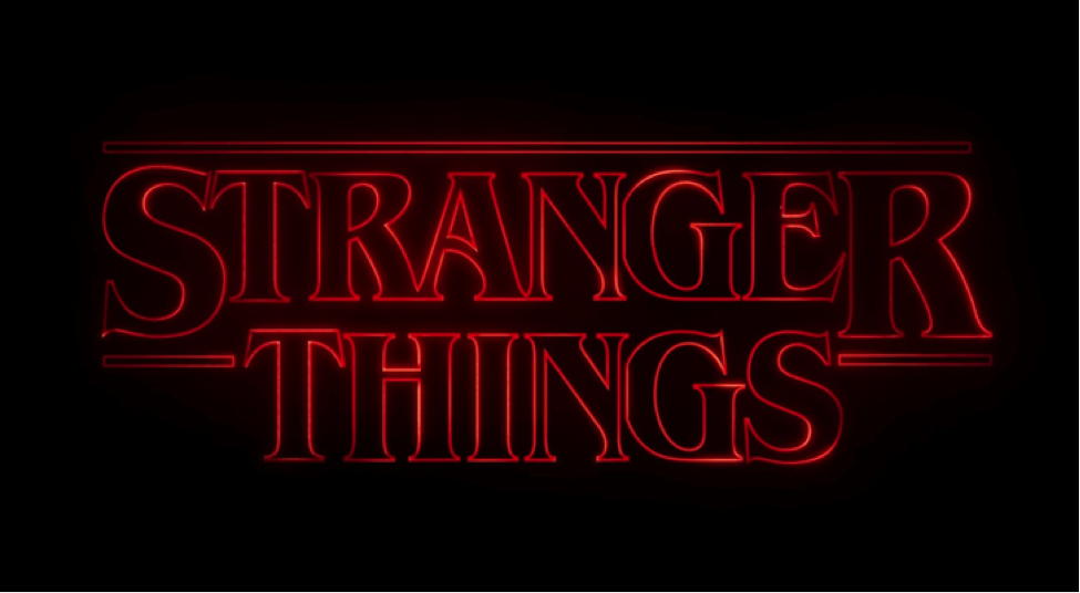 "Logo of the Netflix series ""Stranger Things."" Photo courtesy of Wikipedia."