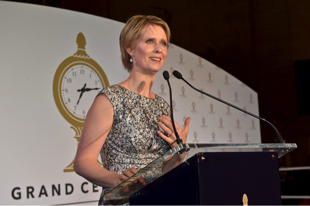 Cynthia Nixon, actress and activist, who plans to run for governor of New York. Photo courtesy of Flickr.