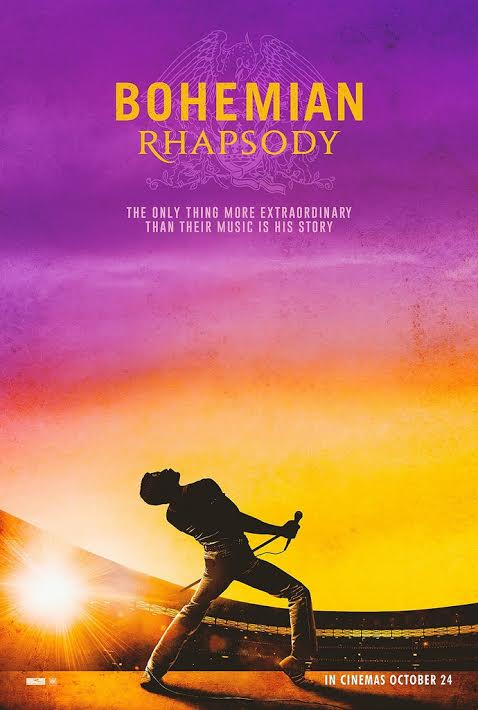 "A poster for the UK release of ""Bohemian Rhapsody."" Photo courtesy of Flickr."