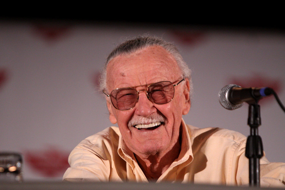 Stan Lee at Phoenix Comicon, pictured in 2011. Photo courtesy of Flickr.