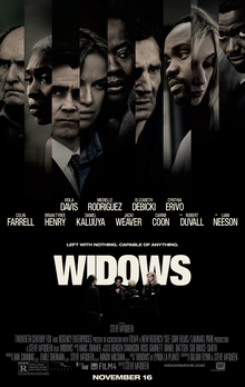 Film poster for 'Widows.' Photo courtesy of Wikipedia.