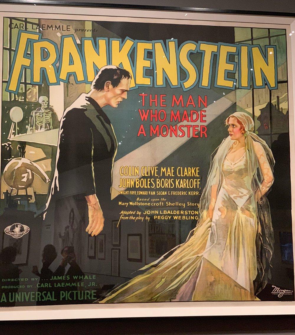 A 1931 Carl Laemmle poster. Photo by Alexis Martinez.