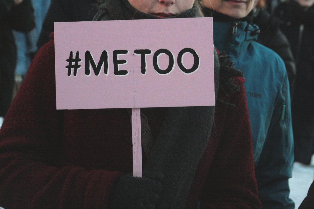 The #MeToo movement represented at the Oslo Women's March in 2018. Photo courtesy of Wikimedia Commons.