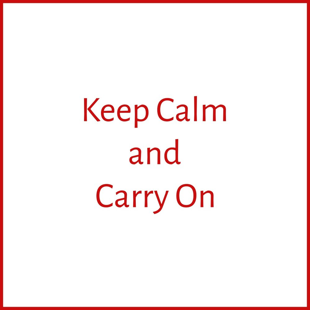 Keep Calm and Carry On with Dominique Mas