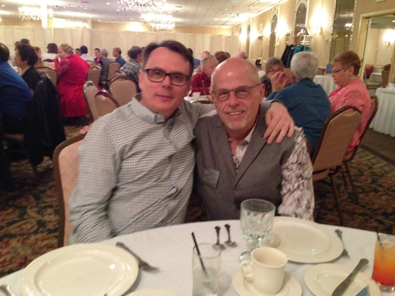John and Jeff, Glenview Squares Anniversary Dance, May 20, 2016, The White Eagle, Niles