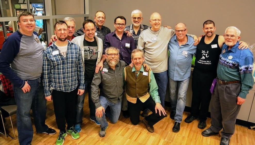 Bob, Therron, John, Ken, Cameron, John, Jim, Chuck, Jeff, Alan at the 2015 Atlanta Fly-in