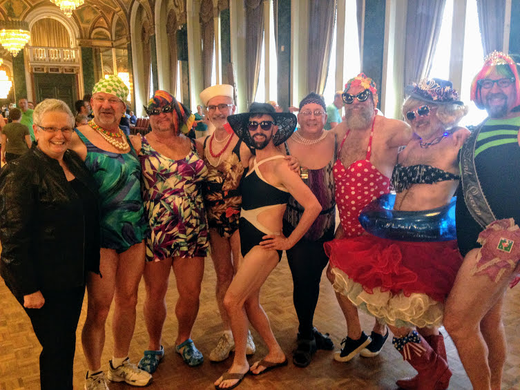 The Bathing Beauties returned to the Toronto Convention, Jul 2, 2016