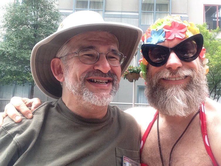 Yakov and Rich at the St. Louis Convention, May 26, 2015
