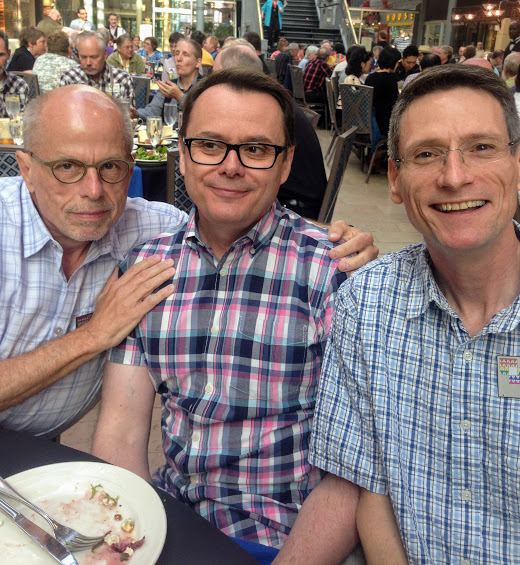 Jeff, John and David at the St. Louis Convention, May 26, 2015
