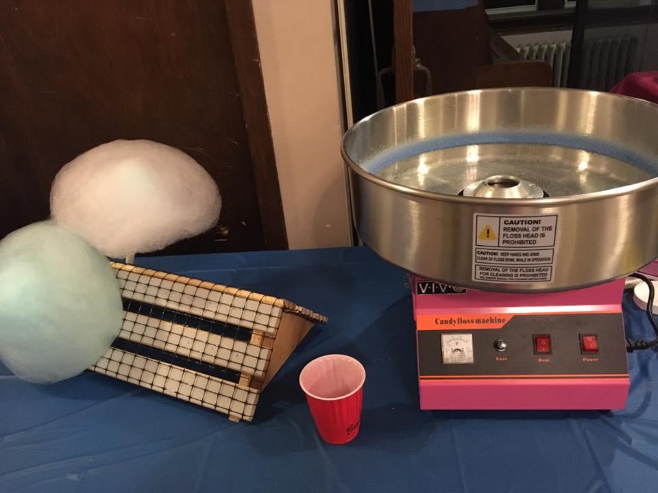 Crossfire 2018! A cotton candy machine!