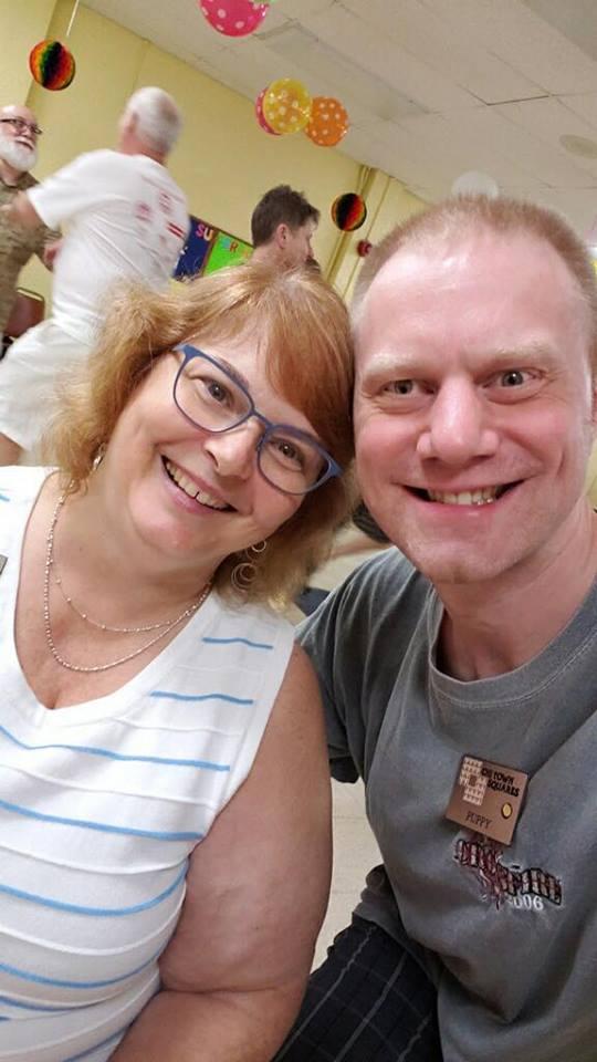 Crossfire 2018! Kathy Zottmann and Scott Hawkins!