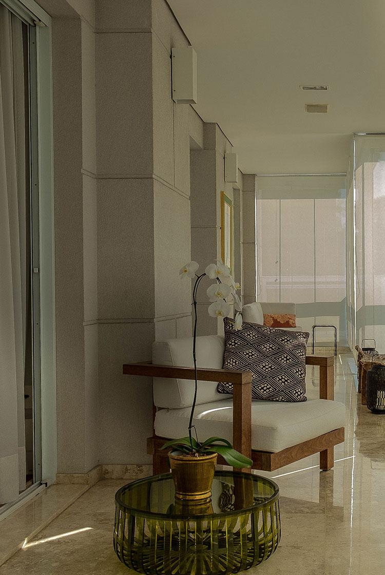 Apartamento Vila Nova Conceição  |  Varanda