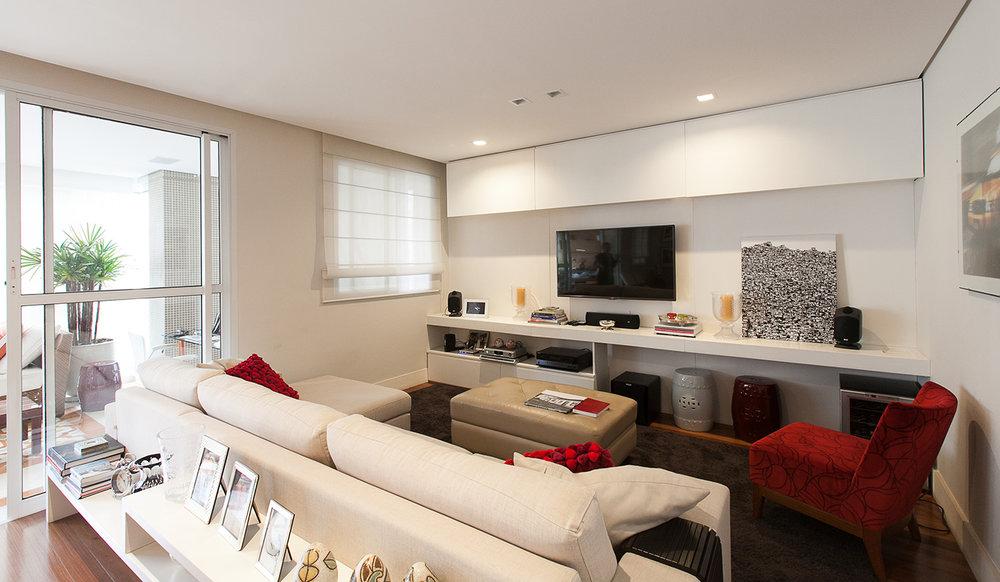 Apartamento Pinheiros  |  Estar