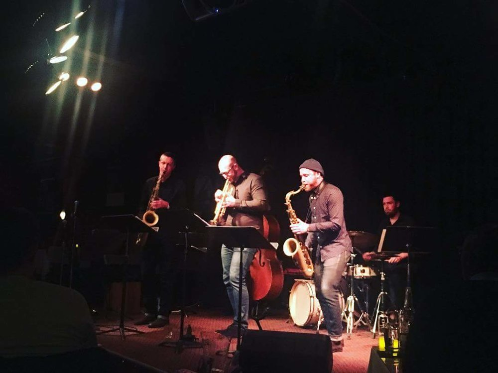 Our second set at Tula's Jazz Club in Seattle, featuring trumpeter/composer Jared Hall.