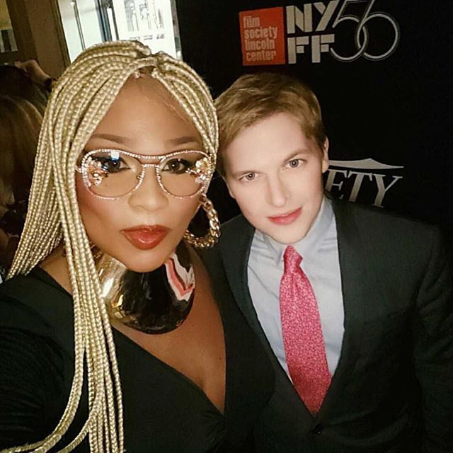 """Peppermint wearing Xtian de Medici eyewear at the variety Magazine's """"Power Of New York Party."""