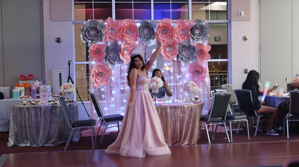 Sybella's Sweet 15 Yorba Linda Community Center