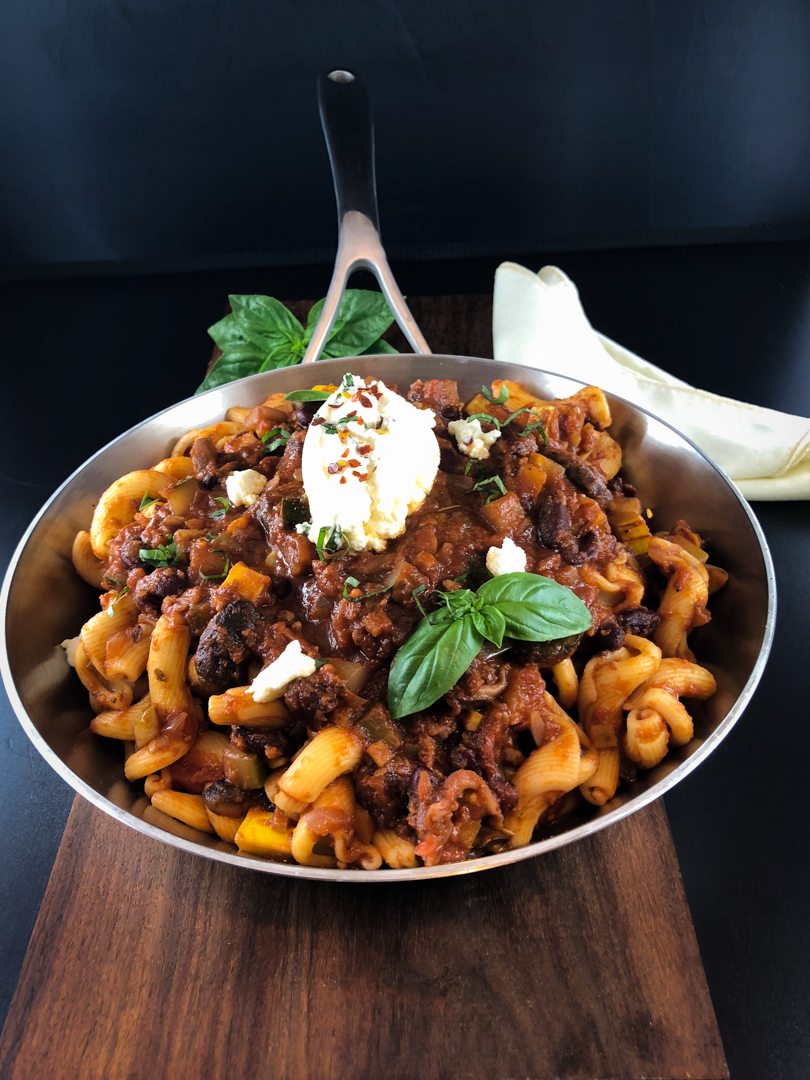 Copy of all vegetable pasta ragu
