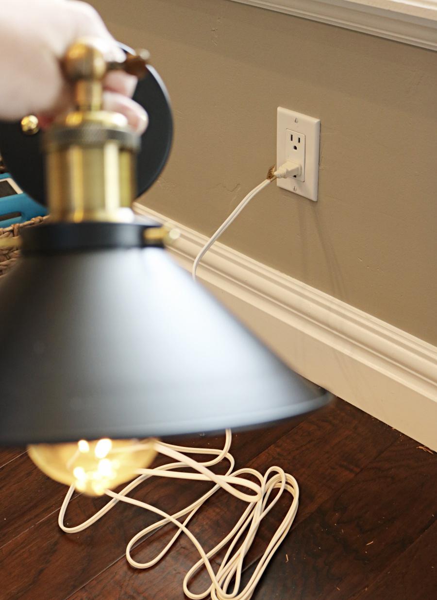 DIY Plug in Lighting