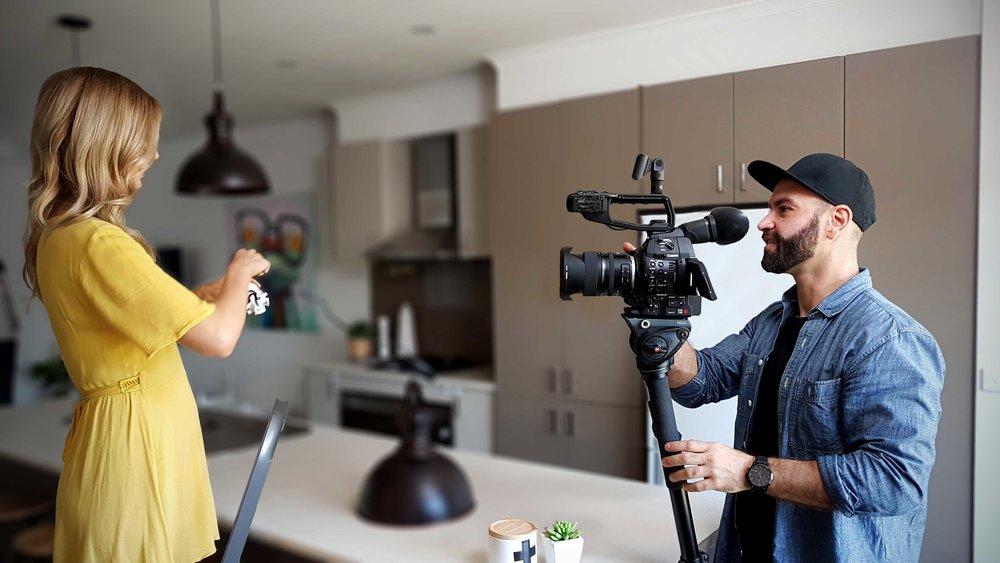 Snap Lighting Filming