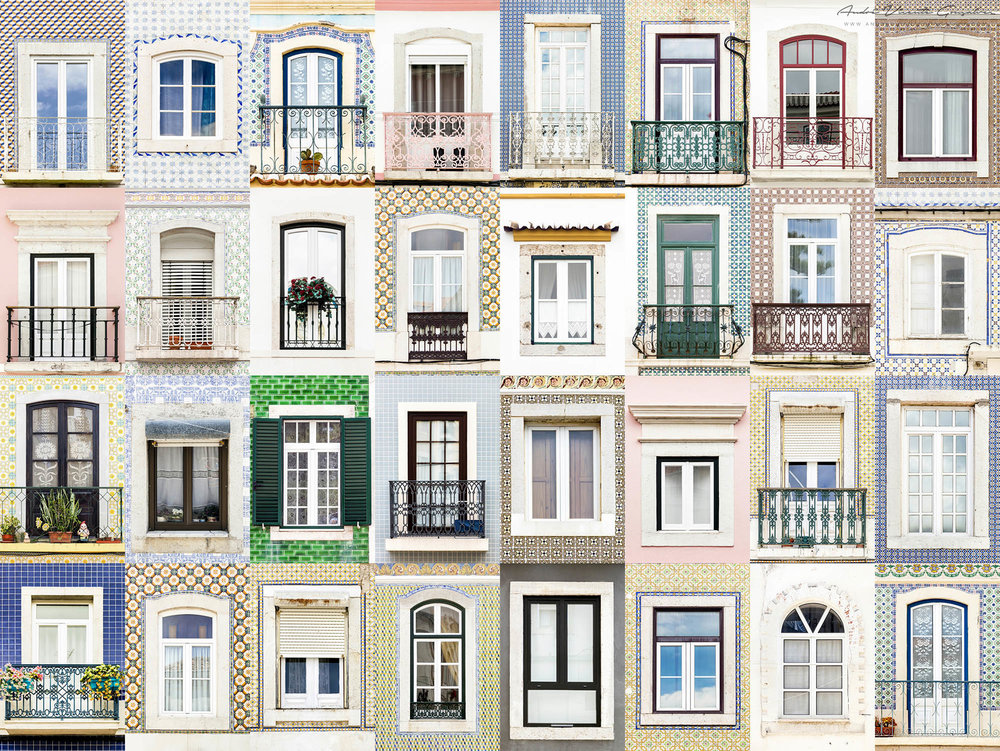 Windows of the World - Sesimbra