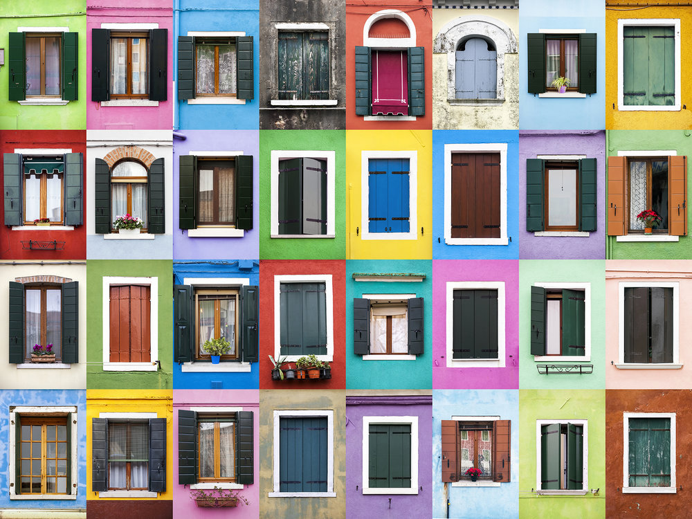 Windows of the World - Burano, Italy
