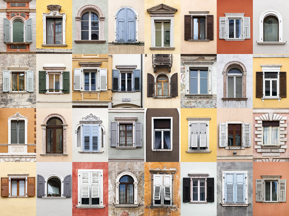 Windows of the World - Trento, Italy