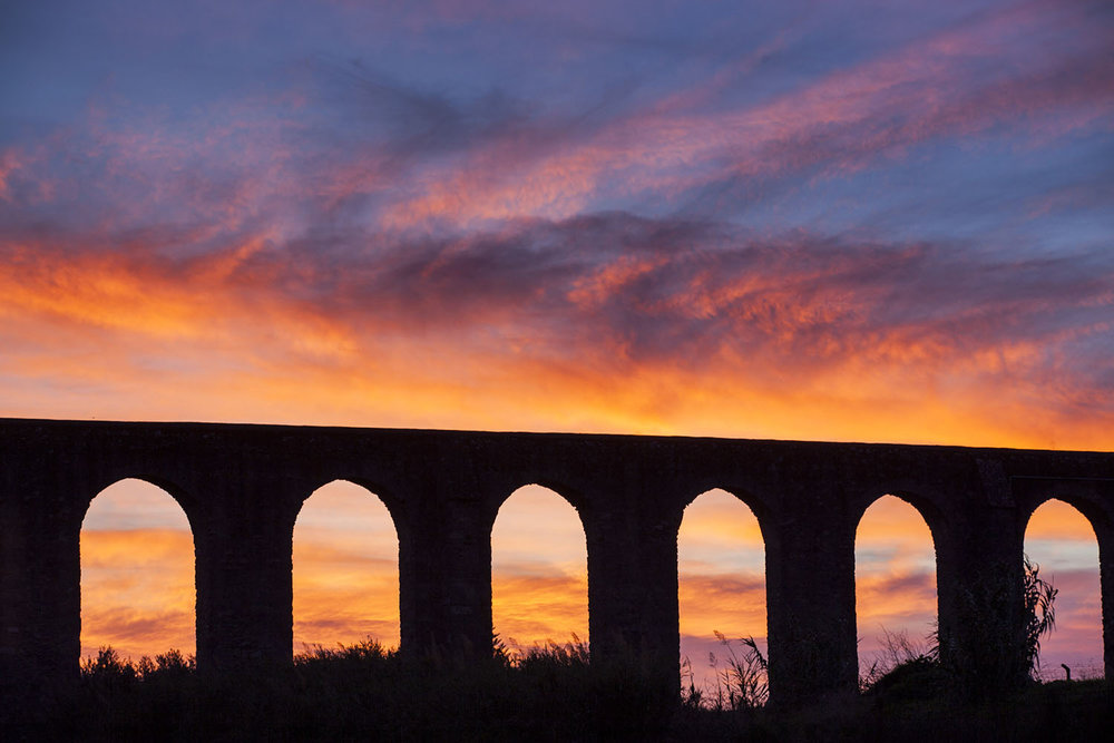Aqueduct in Evora, Portugal