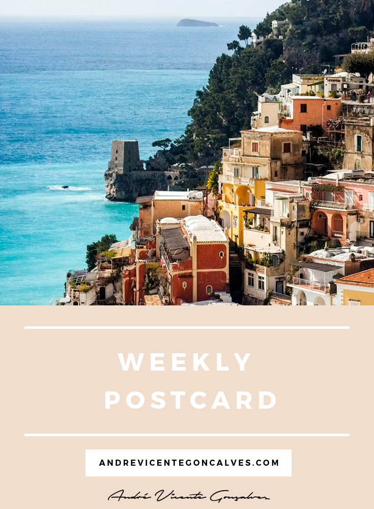 Andre Vicente Goncalves - Weekly Postcard