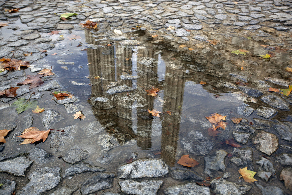 Reflection of the Roman Temple