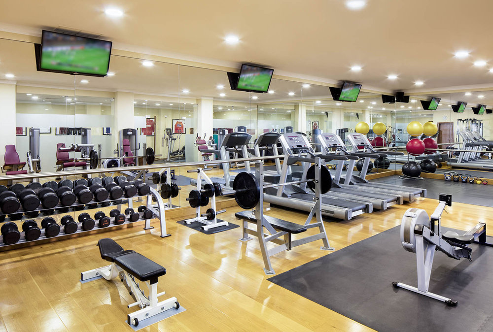 Gym at Marriott Hotel Praia DEl Rey