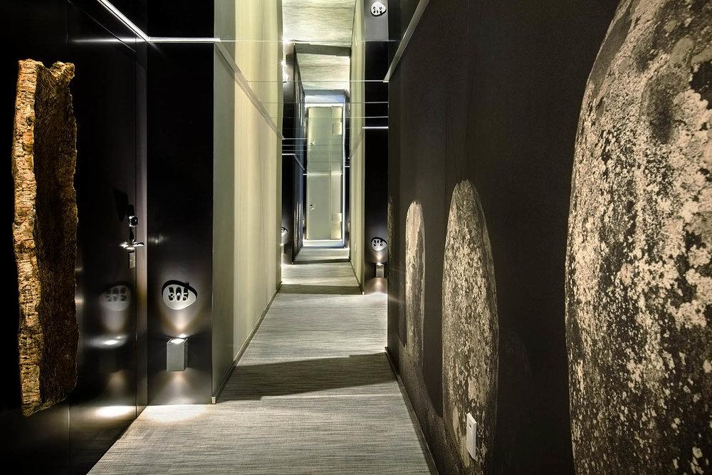 Hallway at Vitoria Stone Hotel